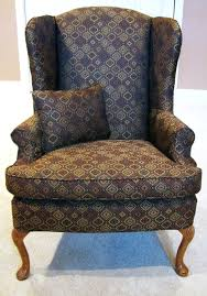 Pattern Chairs Slipcover For Wingback Chair Not T Cushion Slipcovers Chairs
