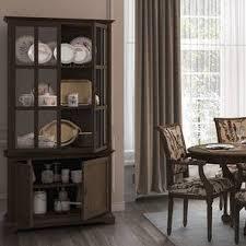 crockery cabinet designs modern eleanor 78 tall display crockery cabinet urban ladder