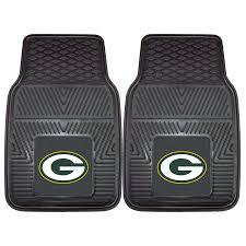 Gray Green Amazon Com Fanmats Nfl Green Bay Packers Vinyl Heavy Duty Car Mat
