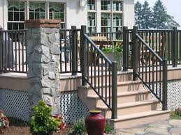 Patio Handrails by Vinyl Porch Railing Brackets Slip Resistance Vinyl Porch Railing