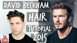 what hair producr does beckham use david beckham 2015 hair tutorial messy pompadour mens hairsyle