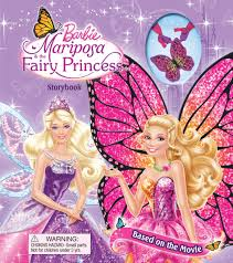 barbie mariposa u0026 fairy princess storybook book barbie