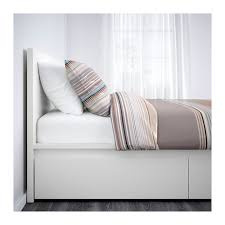 Bed Frame With Drawers Malm High Bed Frame 4 Storage Boxes Queen Ikea