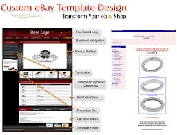ebay template design ebay template design fully customize ebay template design for