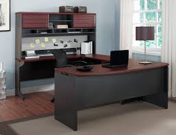 Computer Desk Sale Latitude Run Elizabeth U Shape Computer Desk With Hutch U0026 Reviews