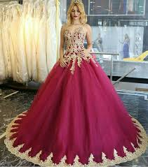 wine red prom dresses gold lace prom dresses prom ball gown