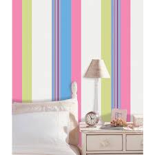 wallpops 6 5 in x 16 ft ribbon candy blue stripe wall decal ribbon candy blue stripe wall decal