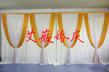 Curtain Drapes For Weddings Online Get Cheap Silver Wedding Draping Aliexpress Com Alibaba