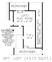 mon chateau house plan house plans by garrell associates inc