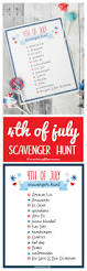 4th of july scavenger hunt printable create craft love