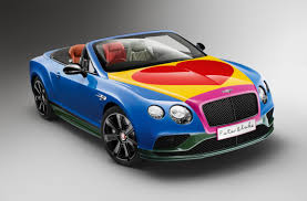 bentley cars peter blake creates special bentley for a benefit auction pursuitist