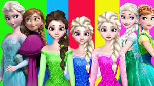 frozen songs babies elsa anna cartoons children nursery