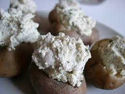 ail en robe de chambre pommes de terre farcies au tofu ail et fines herbes blogbio