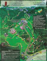 Puerto Vallarta Mexico Map by Vallarta Botanical Gardens In Puerto Vallarta