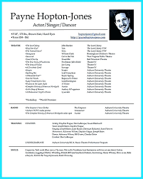 theatrical resume template here are actors resume exle actor resume template sle actors