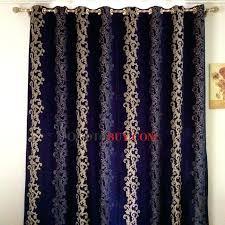 Velvet Curtain Panels Target Royal Blue Curtains Mirak Info