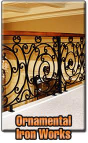 custom wrought iron works fences railing gates ramos iron work