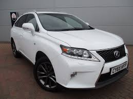 suv lexus white used lexus rx cars for sale motors co uk