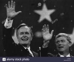 bush sr presidency vice president and republican party nominee