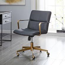 modern desk chairs west elm