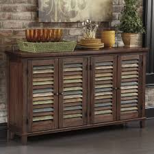 Dining Room Accent Furniture Dining Room Server With Color Accent Doors By Signature Design By