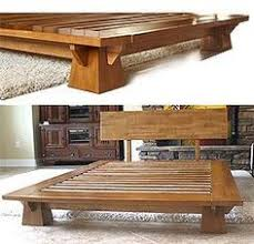 Woodworking Projects Platform Bed by Best 25 Japanese Platform Bed Ideas On Pinterest Minimalist Bed