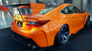 lexus rc yellow lexus rc350 withave body kit madwhips