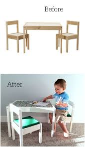 Ikea Childrens Table And Chairs by All The Pretty Things Ikea Hack Childrens Latt Table
