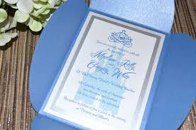 cinderella wedding invitations fairy tale wedding invitations cinderella petal fold