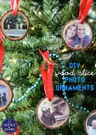diy wood slice photo ornaments canon pixma giveaway inspired by