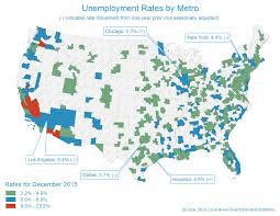 Map Metro Chicago by Chicago Metro Unemployment Rate Remains Unchanged At 5 7 In December