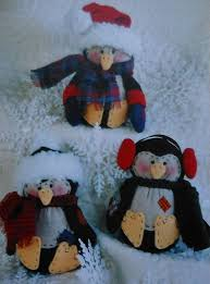 holiday penguins sewing pattern sewing patterns pinterest