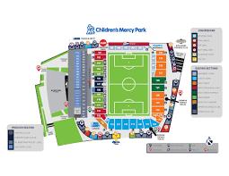 stadium floor plan children u0027s mercy park stadium map sporting kansas city