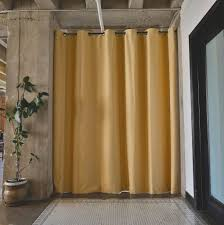 Room Curtain Divider Ikea by Interior U0026 Decor Tension Rod Room Divider Expandable Curtain
