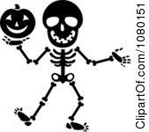 halloween clipart black and white halloween clipart skeleton u2013 festival collections