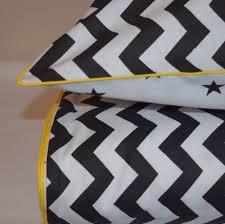 Spencer White Full Bedroom Set Monochrome 100 Cotton Single Bed Duvet Cover Set Black U0026 White