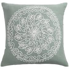 rizzy home embroidered throw pillow 18x18 u201d save 33