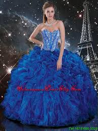 quinceanera dresses 2016 popular 2016 royal blue quinceanera dresses with beading and