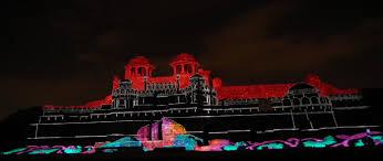 advanced lighting and sound sound light show at red fort delhi light and sound show delhi