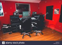 Building A Recording Studio Desk by Classy Professional Recording Studio Setup Large Desk With Mixing