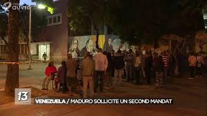 ouverture des bureaux de vote ouverture des bureaux de vote au vénézuela jt 13h00 20 05 2018