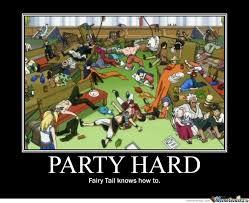 Fairytail Memes - party lv fairy tail by kawaiilucee meme center