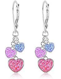 feather earrings for kids girl s drop dangle earrings