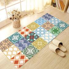 60x120cm removable floor stickers mediterranean style self