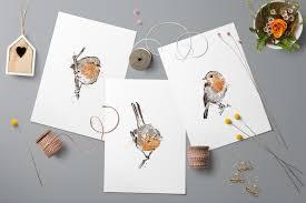 free printable bird wall art pine trees studio december free printable robin bird set of 3 wall