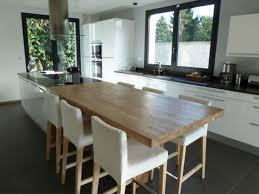idee cuisine avec ilot ilot central cuisine avec table salle bain leroy merlin