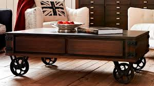 Rustic Coffee Table With Wheels Rustic Coffee Table On Wheels Best Ideas About For New