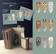 owl bookmarks by sash kash on deviantart