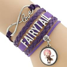 leather bracelet styles images Buy fairy tail cute team natsu leather bracelet 6 styles jpg