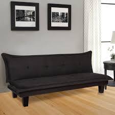 microfiber futon sofa bed black u2013 best choice products